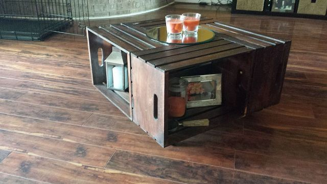 crate coffee table, diy renovations projects, furniture furniture revivals, pallet projects, repurposing upcycling