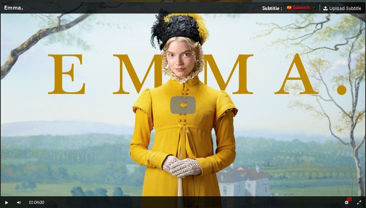 Hd Emma 2020 Pelicula Completa En Espanol Gratis Emma Movie Inspirational Movies Jane Austen