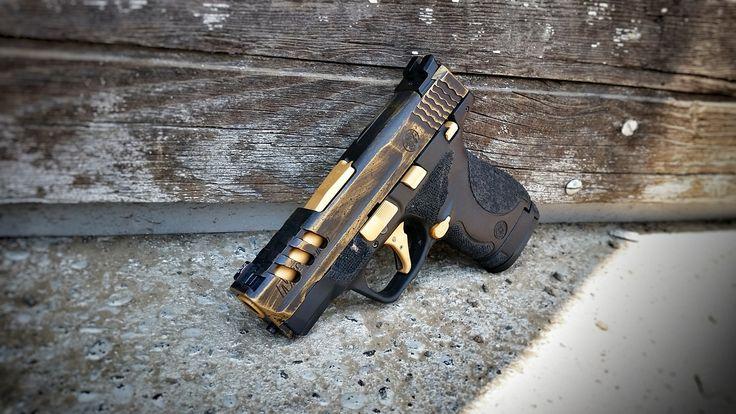 M And P Shield Custom custom glock 43 slide ...