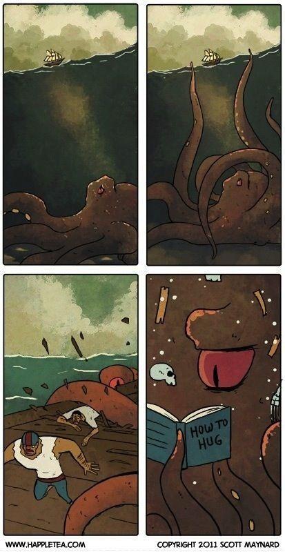The misunderstood octopus.