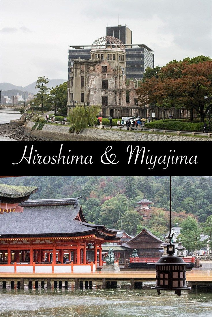 Hiroshima and Miyajima in one day. Japan travel. Family travel.