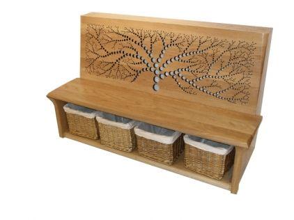 oak radiator bench. Crazy money, but good idea.