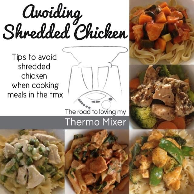 Avoiding shredded chicken breast in the Thermomix