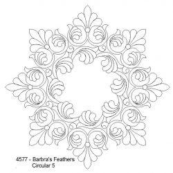 Barbra's Feathers Circular 5