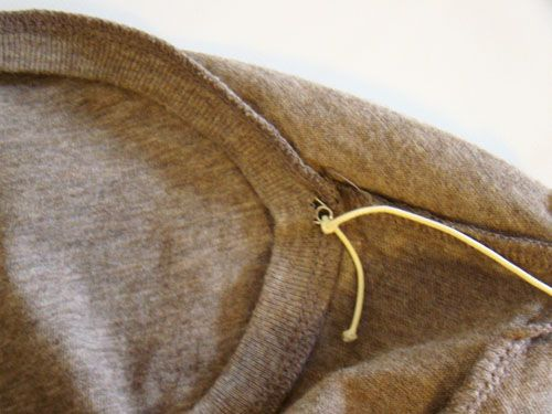 how to fix a neckline that's too low/wide @ Nicole Sherman look at this I think you might like this tutorial!