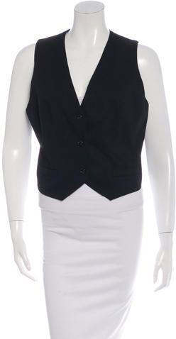 D&G Cropped Lace Vest