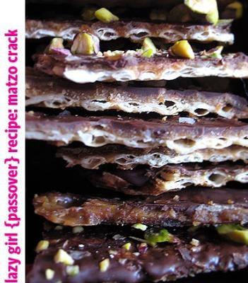 Chocolate Covered Caramel Matzo Crunch | Pesach | Pinterest