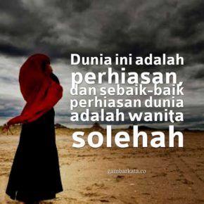 Gambar Kata Kata Islami Wanita Shalehan