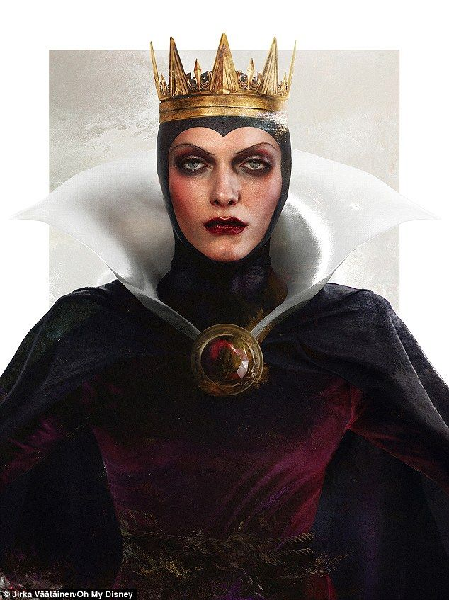 Still the fairest of them all? The Evil Queen is more like the snow queen with her icy glare