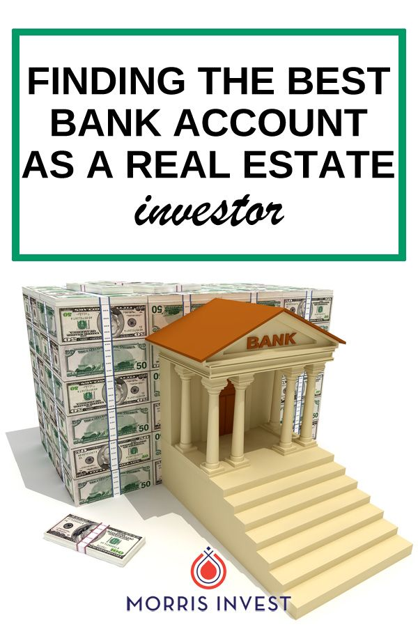 As a real estate investor, you'll want to utilize a business bank account. But not all business bank accounts are created equal! Here's how to find a cost effective solution and the account that fits your specific business' needs.