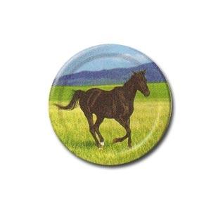 "Wild Horses 7"" Dessert Plates (8/pkg)"