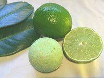 Badekugel Ginkgo Limette