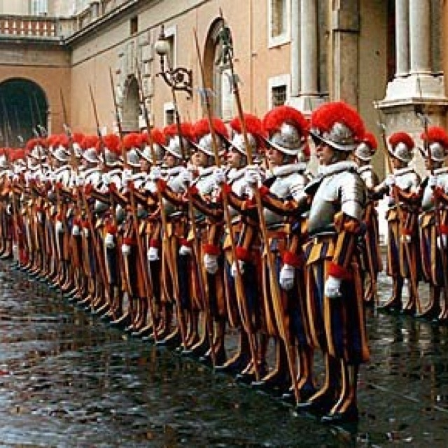 Swiss Guard, Vatican, Rom                                                                                                                                                                                 More