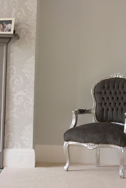 "Farrow & Ball ""Blackened""."