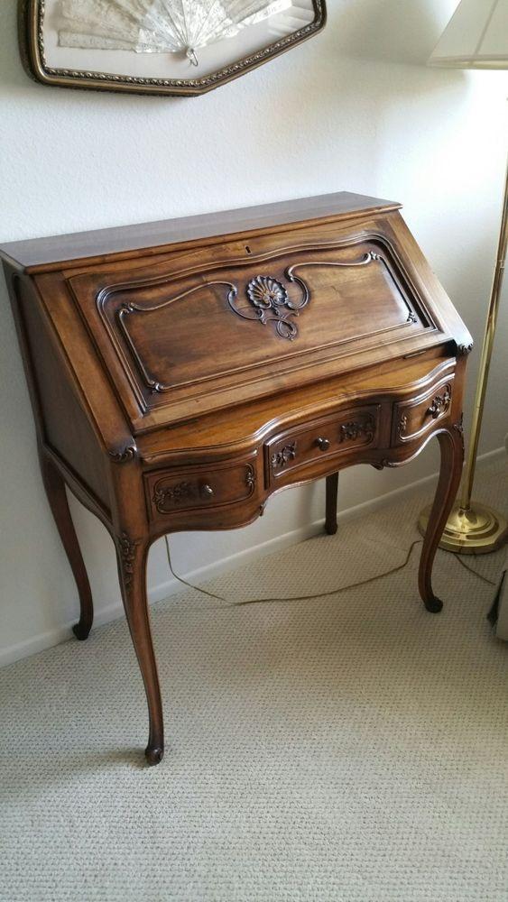 Antique Louis XVI Ladies' Writing Desk... Circa late 1800's =CUT PRICE IN  HALF= - 139 Best Ladies Writing Desks Images On Pinterest Desks, Furniture