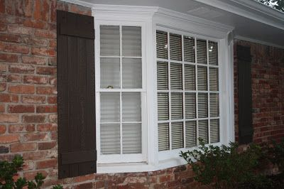 1000 Images About Picture And Bay Windows On Pinterest Plantation Shutter Diy Shutters And