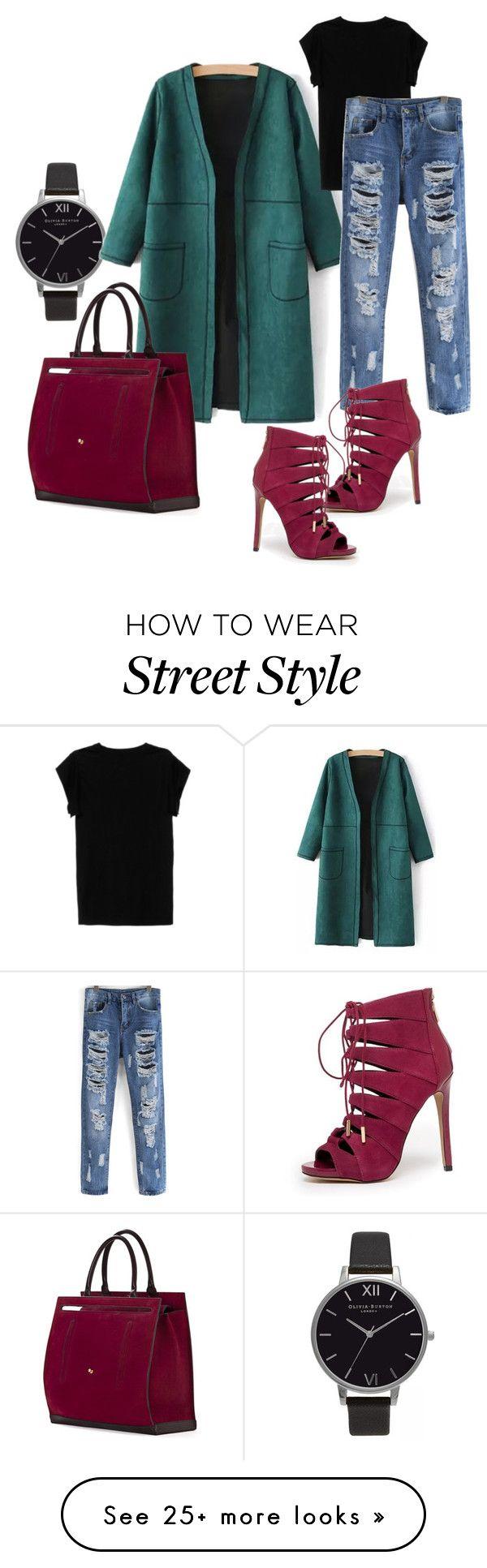 """Street style 2"" by athinakpebor on Polyvore featuring moda, Olivia Burton, Isabel Marant, Bebe e Cambiaghi"