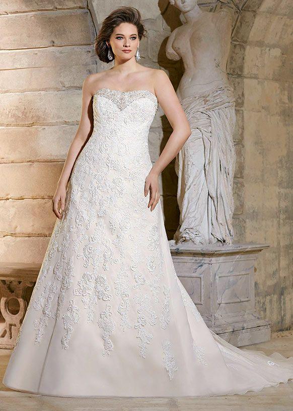 42 best Plus Size // Mori Lee images on Pinterest | Hochzeitskleider ...