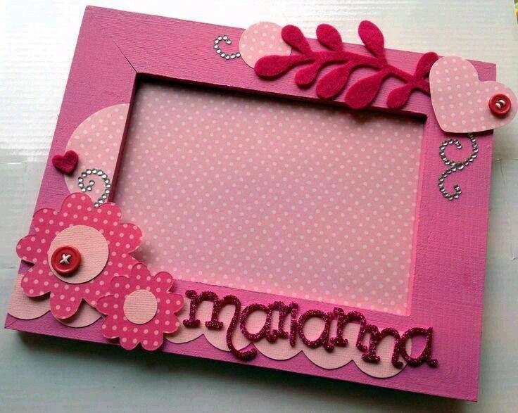 más y más manualidades: Crea bellos portaretratos para el día de las madres