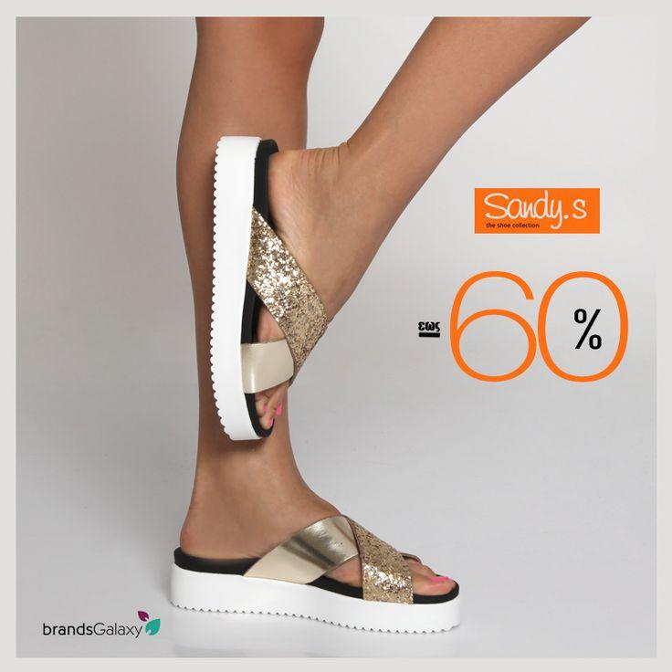 Φόρεσε τα τέλεια σανδάλια στις διακοπές σου από την συλλογή Sandy.s με έκπτωση έως 60%