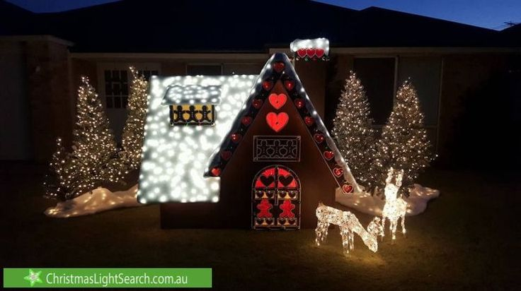 Christmas Lights in Aubin Grove, WA. http://xmaslights.co/aubingrove