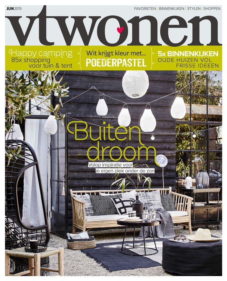 Vtwonen Cover June 2015 Magazine MagazineOutdoor SpacesInterior