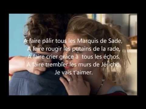 La Famille Bélier (Louane) - Je Vais T'aimer (paroles) - YouTube