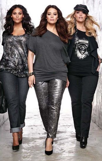 Their jeans! Those tops! Done right & they know it! Plus size, date night, girls night!