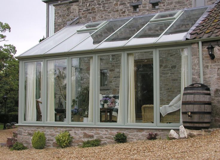 picture of lean to sunroom kits