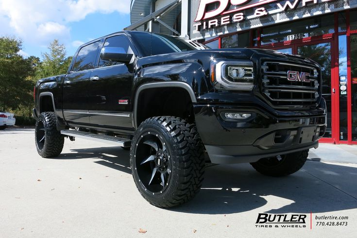 Chevy Sierra with 22in Grid Offroad GD1 Wheels by Butler Tires and Wheels in Atlanta GA   #butlertire #chevy #silverado #gridOffroad #toyo #offroad #truck