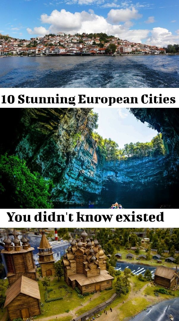 Europe off the beaten track:hidden gems in Europe you didn't know