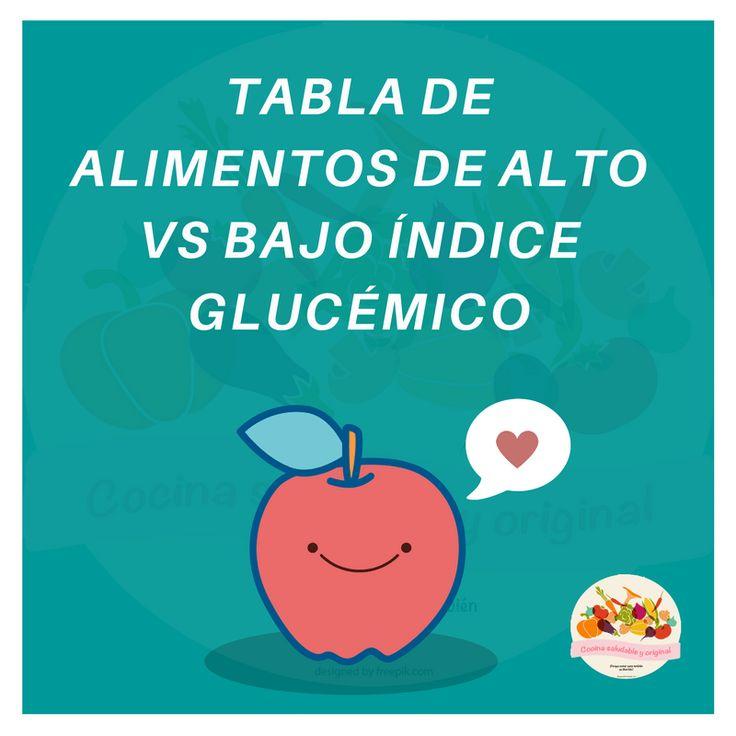 M s de 25 ideas incre bles sobre ndice gluc mico solo en pinterest palio alimentacion - Alimentos bajos en glucosa ...