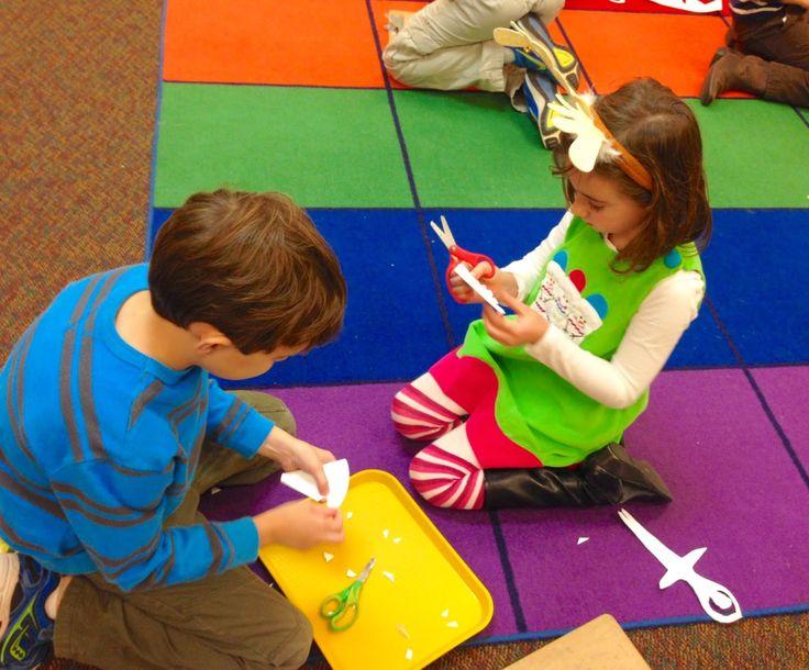 We Music HSES! ♫ Snowflake Ballerinas! Elementary