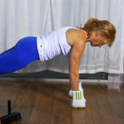 Squat Thrusts: Want to tone your legs, glutes, and abs? Learn how to do a perfect squat thrust. This workout move combines cardio with squats and push-ups. Make it a fast, repetitive movement with a lot of power, and you'll be in great shape in no time.   Health.com