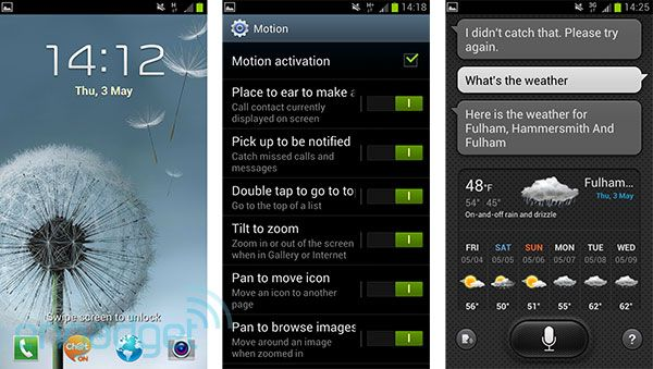 Samsung Galaxy S III software impressions (video) -- Engadget
