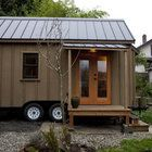 Tiny house designers need plans that make the most of very limited space for cooking, sleeping and bathing. Workshops help people wanting to design or build their own ADU. Builders sells plans and there is even drawing software like Google SketchUp or Chief Architect to help.