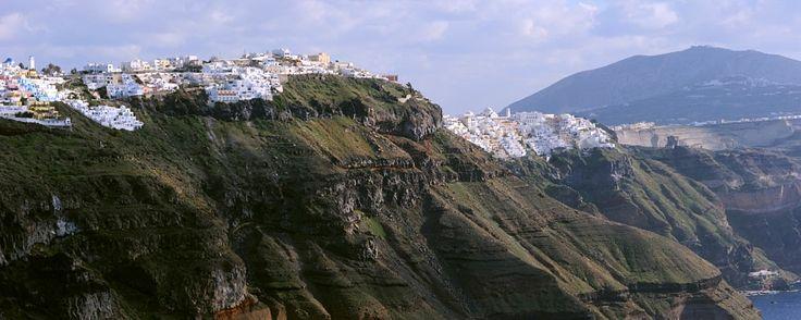 Santorini, Fira Town