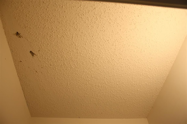 how to get rid of stippled ceilings