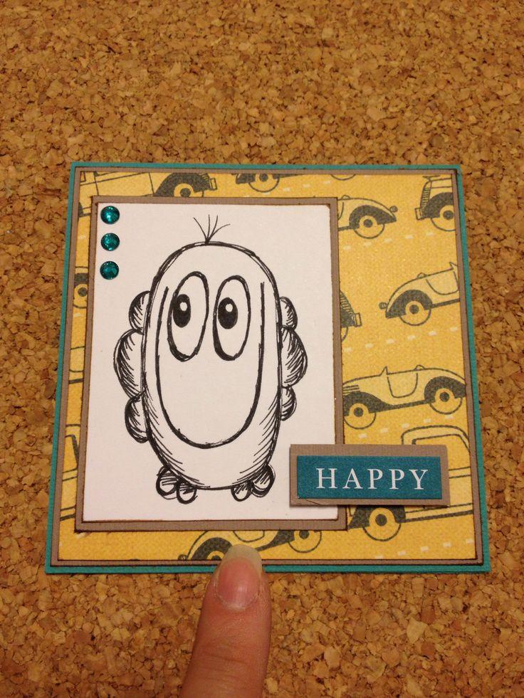 Mini monster kort