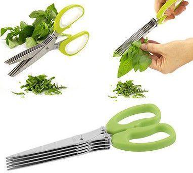 Multifunction 5 blades Scissors Paper Shredder & Vegetable Chopper @ Rs.235