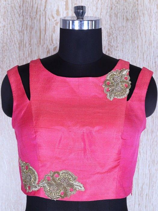 Shop Pink Circular Satin Silk Lehnga Choli By G3+ Video Shopping