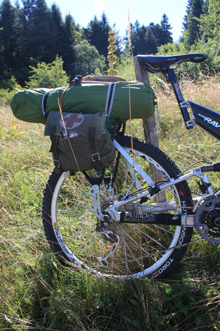 Cannondale Rave ocn un transportin Sherpa de Old man Mountain #avantumbikes