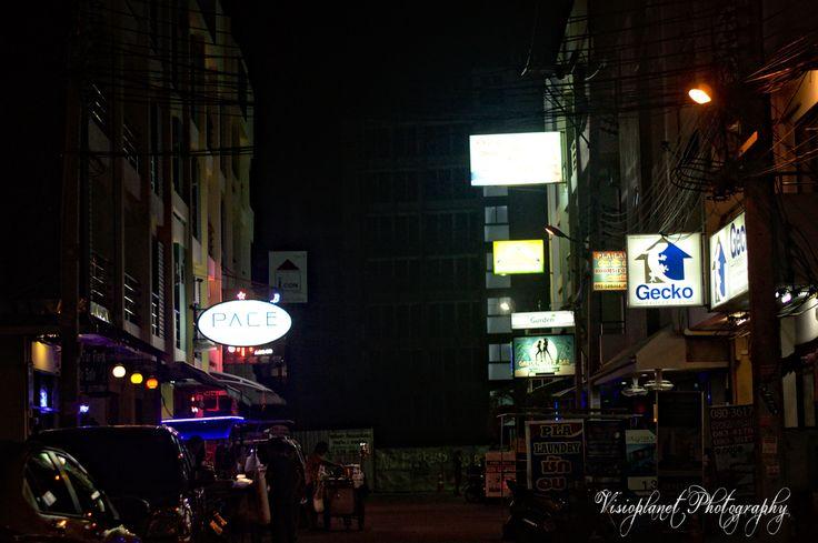 The Dark Alleyway #Nightscape #Pattaya #Photography #StreetPhotography #Thailand
