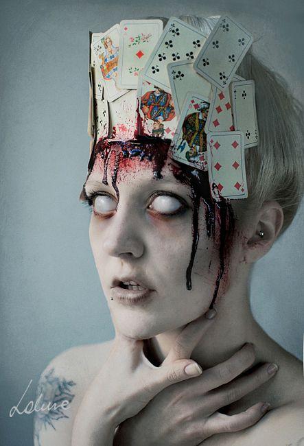Creepy Portraits by Miss Lakune | #DigitalArt #PhotoManipulation #Photography