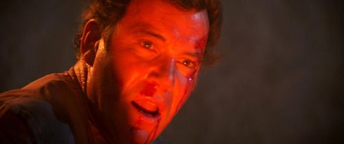 During the filming of Star Trek III, a fire broke out behind the Paramount lot, causing a bit of damage to the Genesis Planet set. As recounted in his book Star Trek Movie Memories, William Shatner was among those who helped extinguish the flames...
