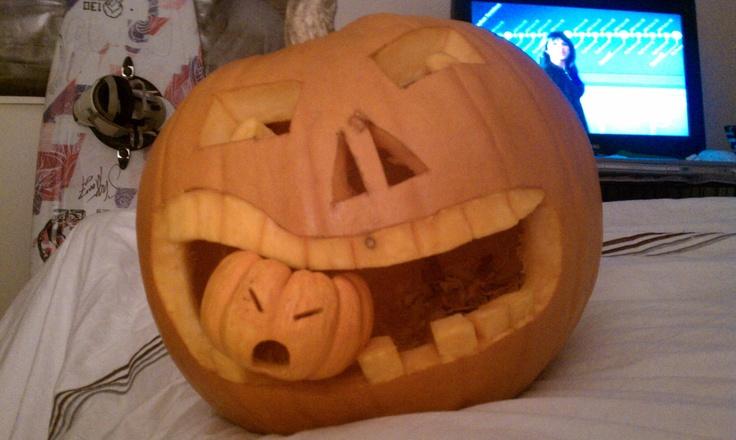 My Pumpkin Carving From 2010 :) -Jessica Ann Pelfrey