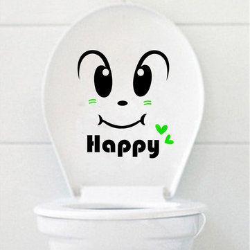 Happy Smily Face Toilet Seat Cover Sticker Bathroom Waterproof Wall Decal Home Decor //Price: $3.98 & FREE Shipping //     #wallstickerforbedroom #wallstickerforlivingroom #wallstickerforkids #wallstickerforkitchen #3Dwallsticker #removeablewallsticker #treewallsticker ##3wallstickers#3dbutterflywallstickers #3dmirrorwallstickers #3dwallsticker #3dwallstickermalaysia #3dwallstickers #3dwallstickersamazon #3dwallstickersaustralia #3dwallstickersbeach #3dwallstickersebay…