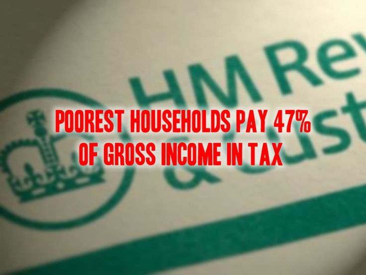 A report just published by the Taxpayer's Alliance has found that the poorest 10% of households in the UK pay 47% of their gross income in direct and indirect taxes. Analysis of Office for National...
