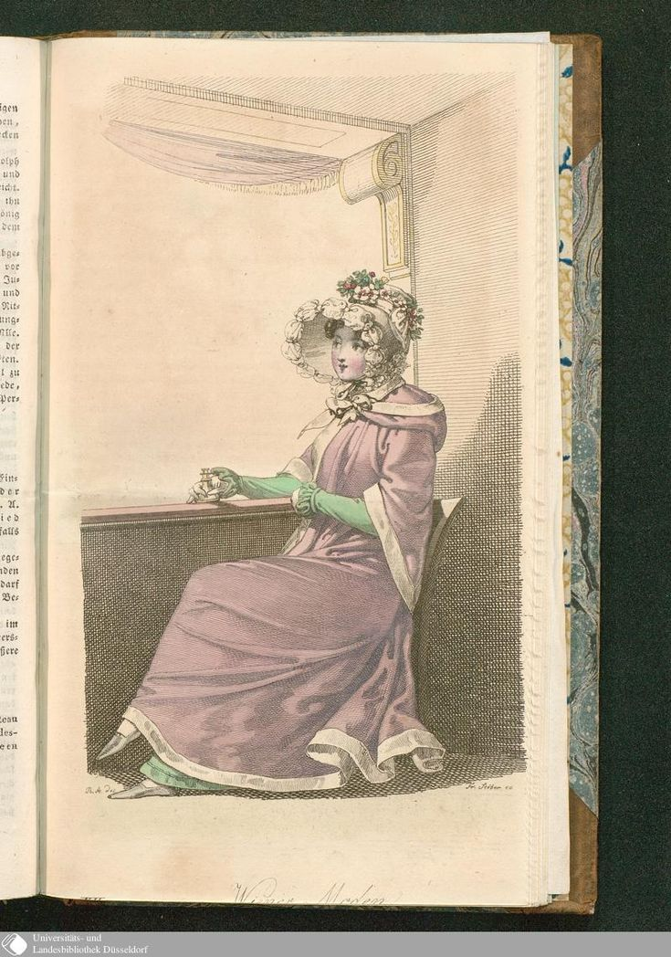 Wiener Zeitschrift für Kunst, Literatur, Theater und Mode › 1820 › Erstes Quartal des fünften Jahrgangs. › Donnerstag, den 23. März 1820. 36 › XII. Wiener Moden.