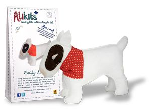Rocky Kildare  Price: £14.99  A tough looking Bull Terrier, and an ex-guard dog, Rocky Kildare is actually a bit of a softie. His side-kick and friendly owner - the BMX-er - wears a bandana that matches Rocky's own red neckwear.   Rocky is known in Acorn Crescent for his fierce sounding growl, which comes from behind the railings that run alongside his basement flat. Everyone feels happier in the knowledge that he is guarding the Crescent.  Each kit contains everything you need to create